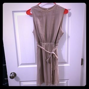 💕double zero Beige Dress